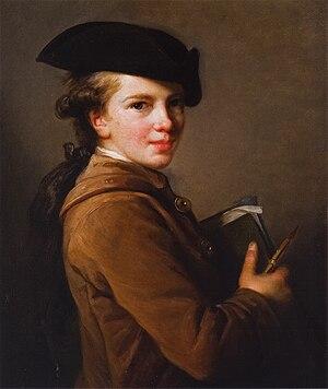 Étienne Vigée - Étienne Vigée, 1773, painted by his sister