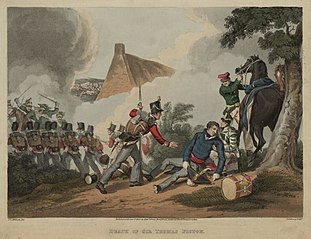 Death of Sir Thomas Picton