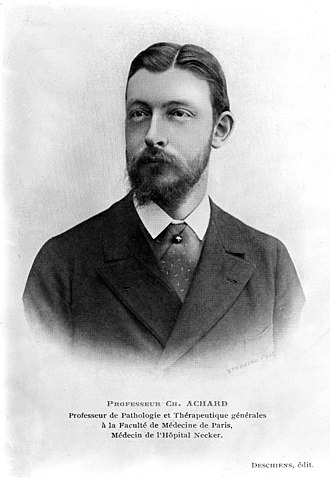 Émile Achard - Achard in his youth