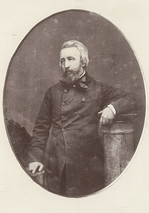 John Skinner Prout - Portrait of J. S. Prout, 18--, sepia toning; oval image 14 x 11cm. Allport Library and Museum of Fine Arts, State Library of Tasmania