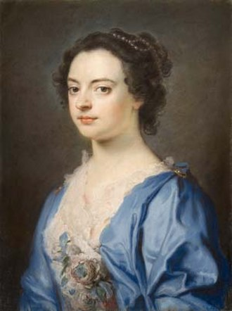 William Hoare - Image: Portrait of a Lady by William Hoare