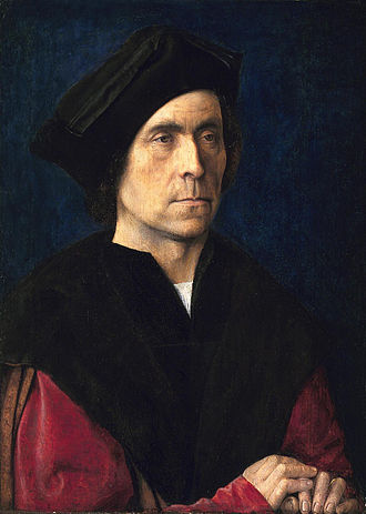 Michael Sittow -  Portrait of a Man by Sittow (c. 1510)