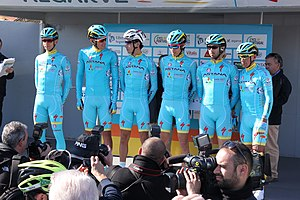 Portugal - Algarve - Lagos - 2016 Volta ao Algarve - Cycle team (25794833505).jpg