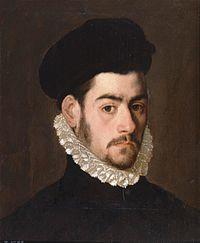 Posible autorretrato del pintor Alonso Sánchez Coello (Museo del Prado).jpg