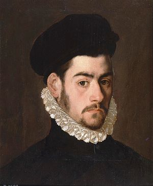 Alonso Sánchez Coello - Possible self-portrait, c. 1570