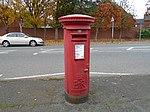 Post box on Gorsey Lane, Wallasey.jpg