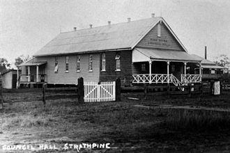 Shire of Pine Rivers - Pine Shire Hall, Strathpine, circa 1920