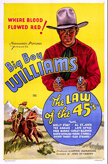 Poster of the movie The Law of 45's.jpg