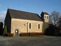 Pouligny-Saint-Martin (36) - Église - vue de coté.jpg