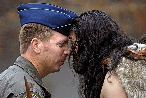 Powhiri, USAF Selbstbewusstsein stärken