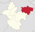 Powiat polkowicki - lokalizacja gminy Grębocice.png