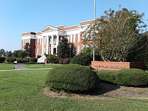National Register of Historic Places listings in Florence County, South Carolina - Image: Poynor Junior High School