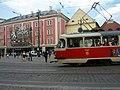 Praha, náměstí Republiky, tramvaj - panoramio.jpg
