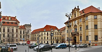 How to get to Marianske Namesti 1 with public transit - About the place