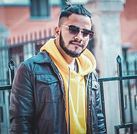 Prakash Neupane, a Nepalese rapper, singer, songwriter, music composer, and poet.jpg