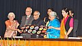 Pranab Mukherjee at the inauguration of Silver Jubilee Celebrations of Indira Gandhi National Centre of Arts, at Rashtrapati Bhavan, in New Delhi. The Union Minister for Culture.jpg
