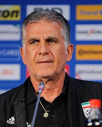 Carlos Queiroz - Queiroz in 2019