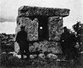 Pre-Israelite ? dolmen in Palestine. Wellcome M0008449.jpg