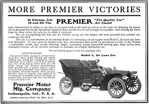 Premier Motor Manufacturing Company - Premier Motor Mfg. Company of Indianapolis, Indiana - 1906