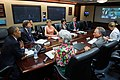 President Barack Obama participates in an ACA videoconference in the Situation Room of the White House.jpg