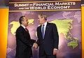 President George W. Bush with President Felipe Calderon - DPLA - d10f49cafcf58f107fac6978743646e7.jpg