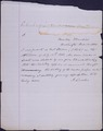 President Lincoln certification of approval of shelling of houses at Fort Stevens - NARA - 306565.tif