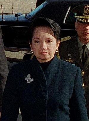 Philippine presidential election, 2004 - Image: President arroyo pentagon
