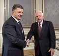 President of Ukraine Petro Proshenko had a meeting with Senator McCain, 20 June 2015.jpeg