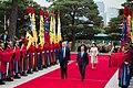 President of the United States Donald John Trump & President of South Korea Moon Jae-in in Seoul, South Korea, November 7, 2017 (24384173988).jpg