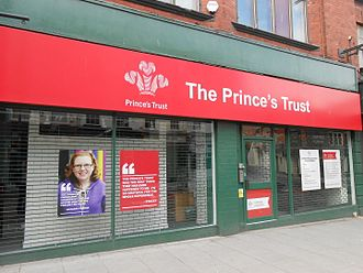 The Prince's Trust - The Prince's Trust centre on Renshaw Street, Liverpool, England