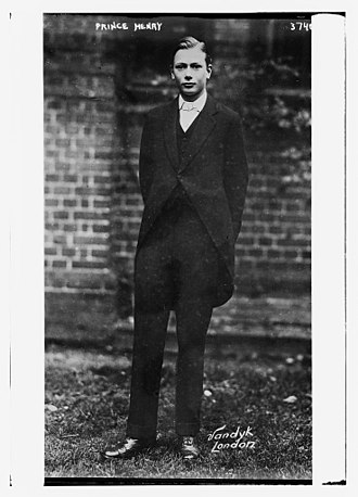 Prince Henry, Duke of Gloucester - At Eton College in 1916