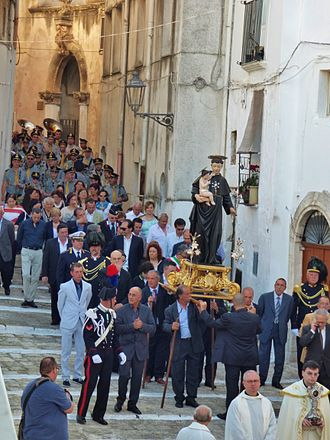Ceglie Messapica - Procession of Saint Antony in Ceglie Messapica