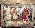 Produzione greca o magnogreca, sarcofago dipinto delle amazzoni, 350-325 a.C. ca, da tarquinia 09.jpg