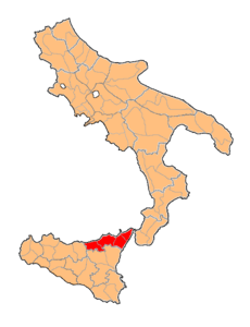 Provincia di Messina Two Sicilies map.png