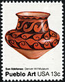 Pueblo Pottery San Ildefonso Pot 13c 1977 issue U.S. stamp.jpg