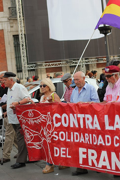 Puerta del Sol Franco Protest May 15 2014 07.JPG