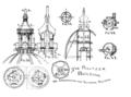 Pulitzer Bldg World Bldg cupola diagrams.png