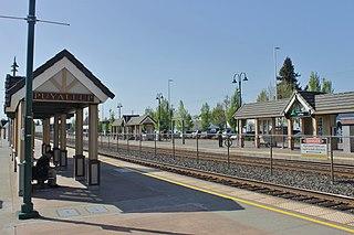 Puyallup station Commuter train station in Puyallup, Washington