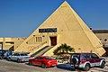 Pyramid shaped entertainment area (13869545054).jpg