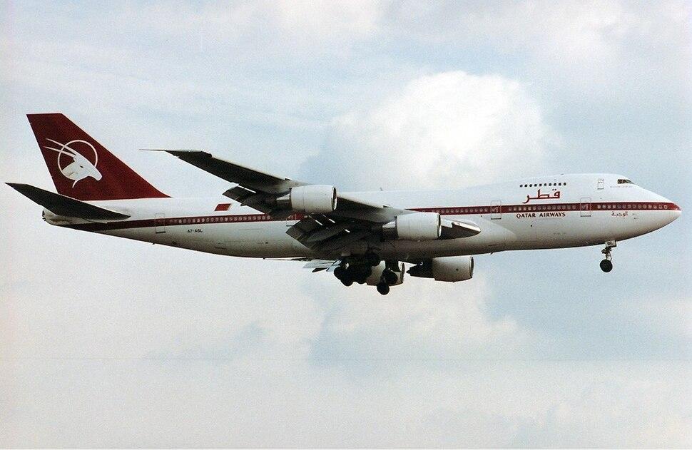Qatar Airways Boeing 747SR Maiwald