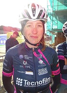 Simona Bortolotti Italian cyclist