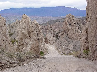 Calchaquí Valleys - Image: Quebrada de las Flechas Argentina