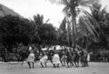Queensland State Archives 1376 Natives display before tourists at Palm Island c 1935.png