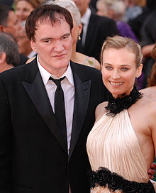 Quentin Tarantino con Diane Kruger ai Premi Oscar 2010