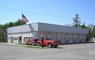 Quincy, Ohio - Image: Quincy Miami Fire Station
