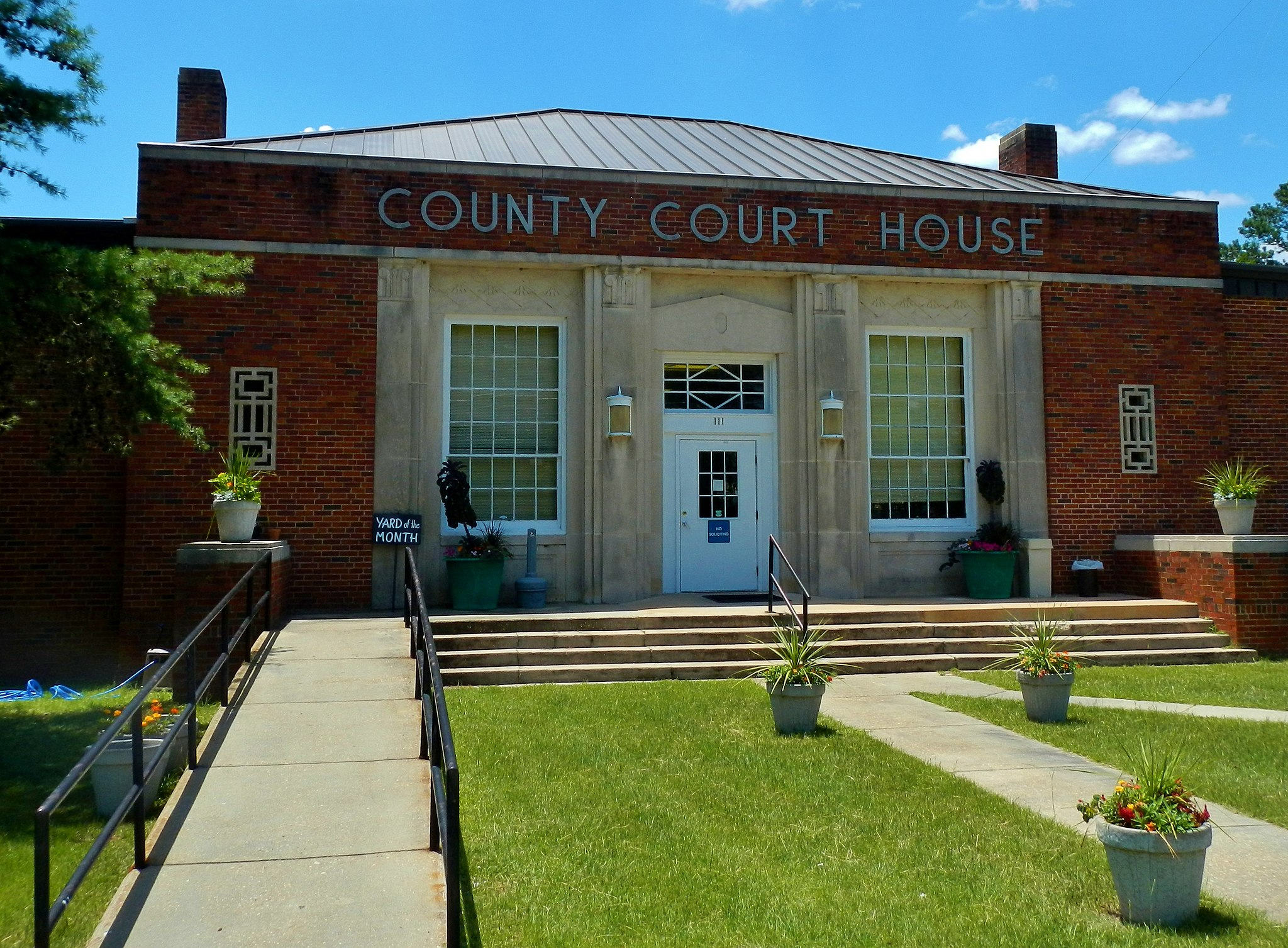 Quitman County Courthouse; Georgetown, GA