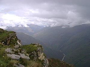 Huamalíes Province - The upper Marañón River in the Huamalíes Province