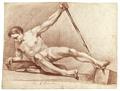 Rödkriteteckning på naken man, 1760-tal - Skoklosters slott - 99368.tif