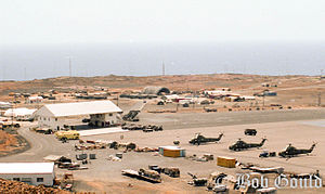 RAF Ascension Island - Air station in November 1983.
