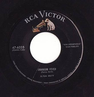 RCA Records - Image: RCA Victor 47 6325 Uranium Fever